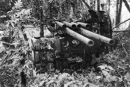 Jap Defenses on Ponape